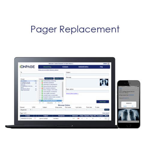 OnPage replaces pagers with application