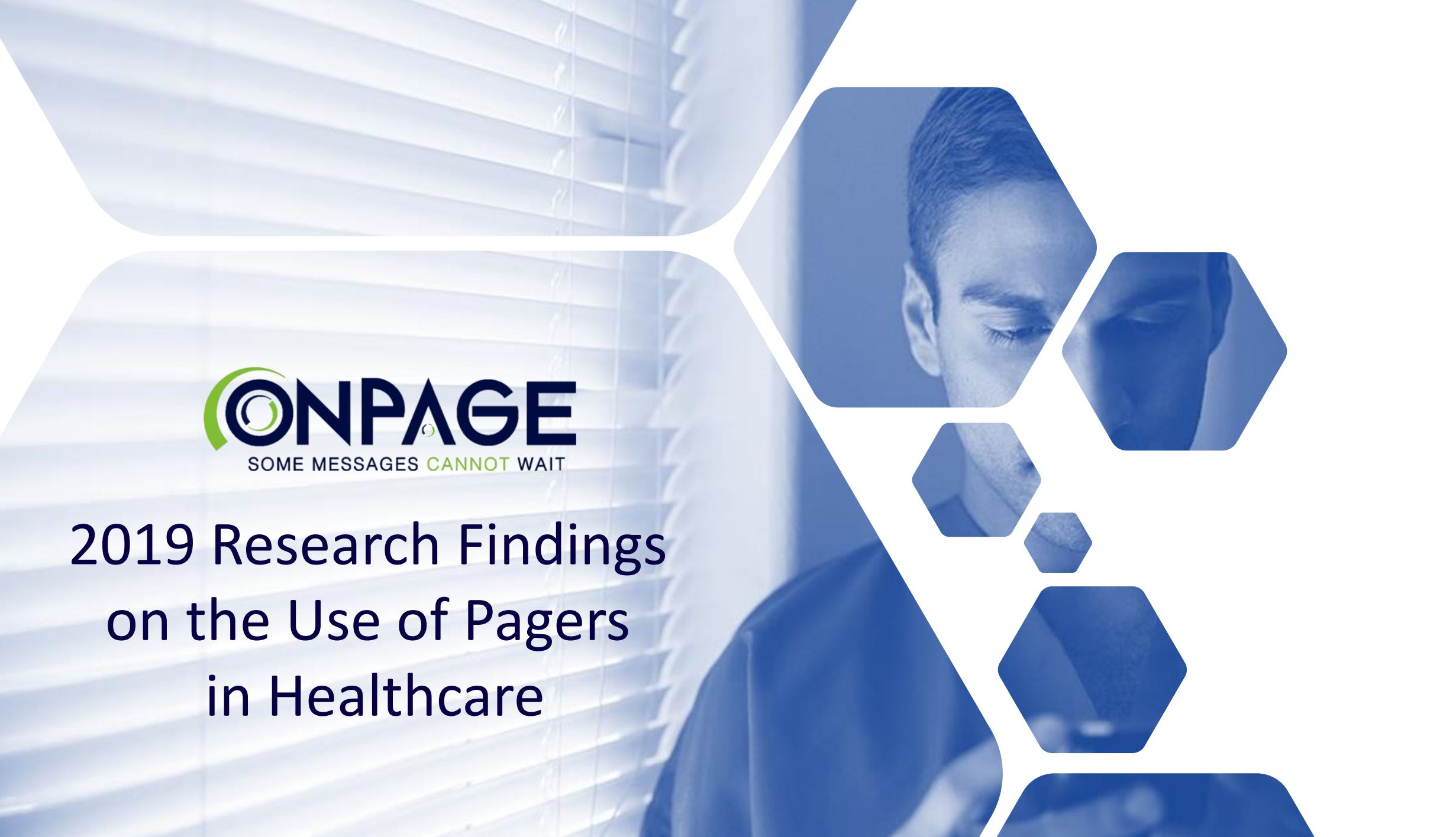 2019 research findings on the use of pagers