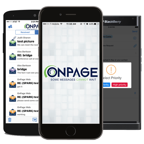 Onpage smart phone application