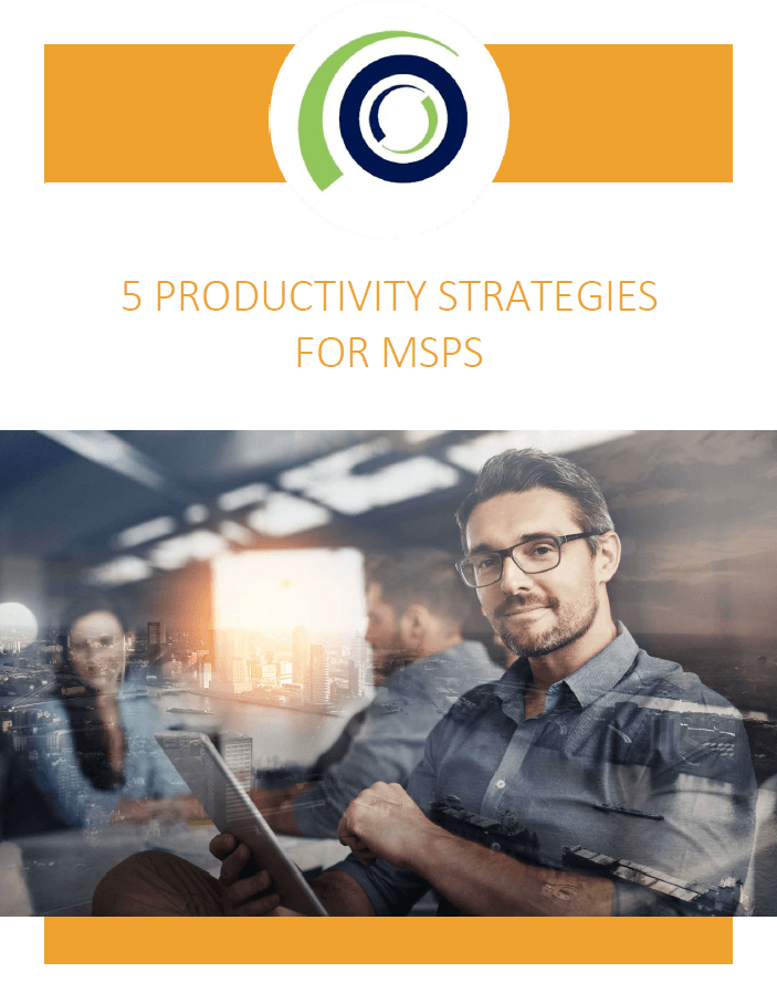 5 Productivity Strategies for MSPs cover 2