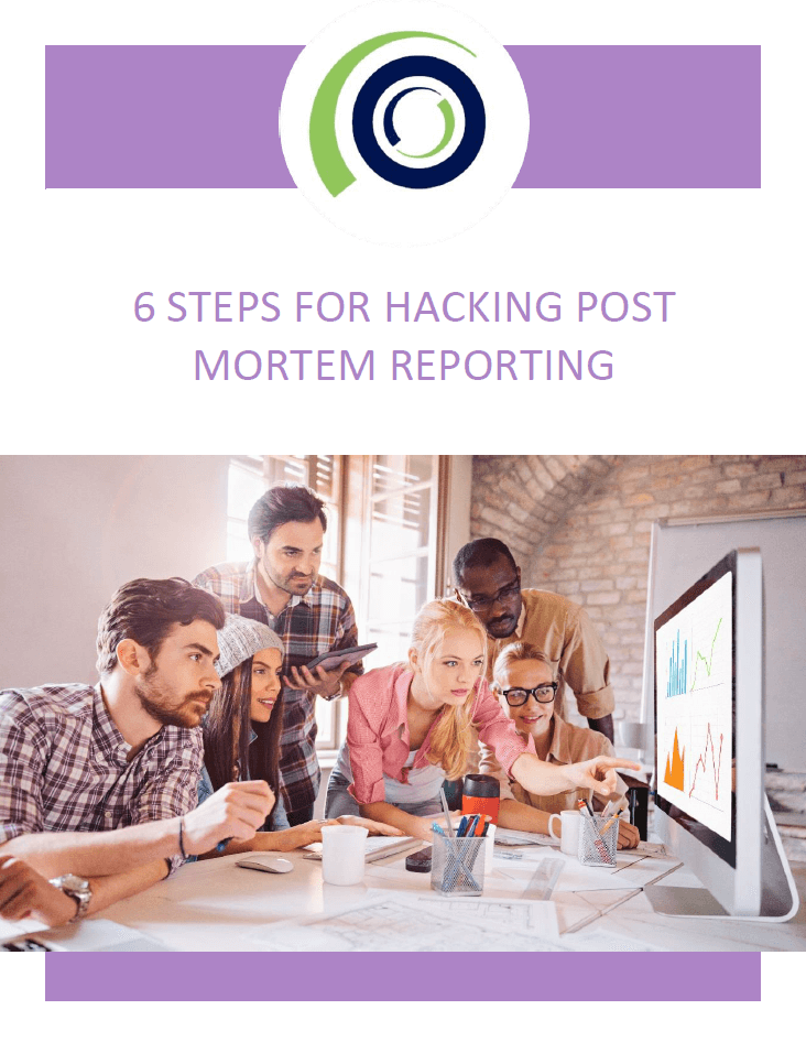 6 STEPS FOR HACKING POST MORTEM REPORTING cover 1