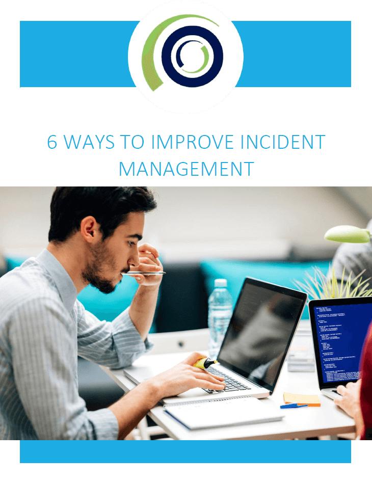 6 ways to improve incident management