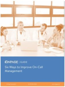 6 ways to improve on call in healthcare