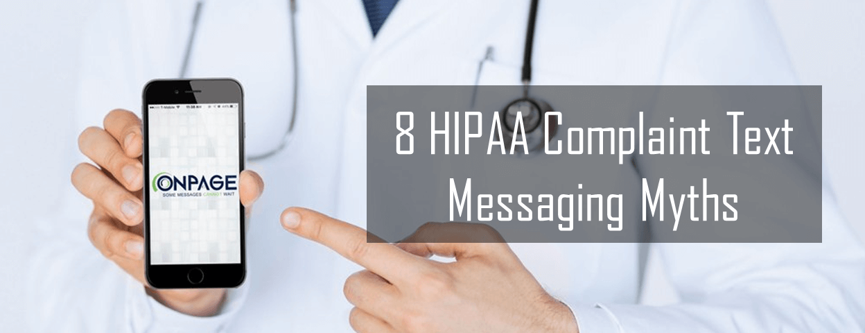 HIPAA compliant text messaging