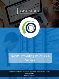 OnPage + BVoIP supports 24×7 service