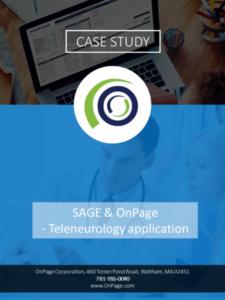 Telemedicine + OnPage