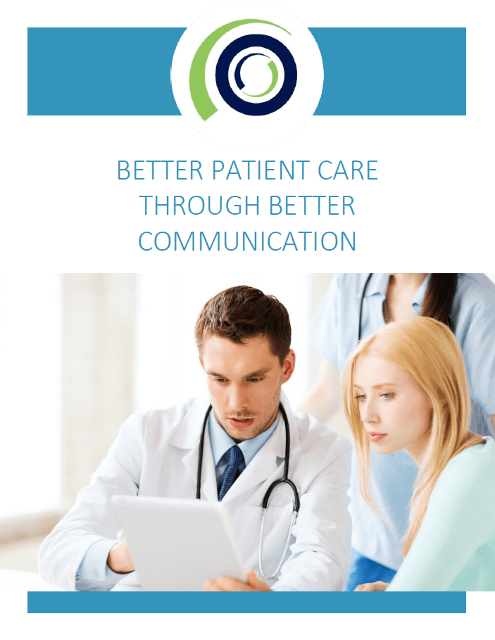 Better Patient Care Through Better Communication cover