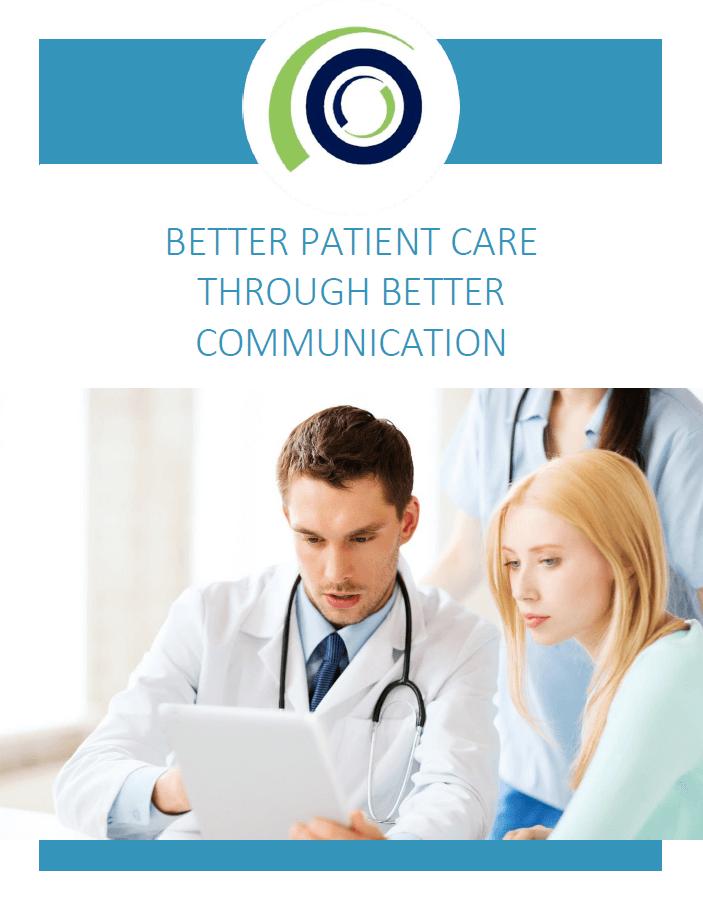 Better Patient Care Through Better Communication cover