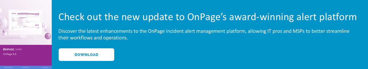 OnPage 4.0 for IT