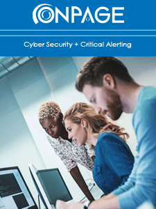 Cyber Security + Critical Alerting