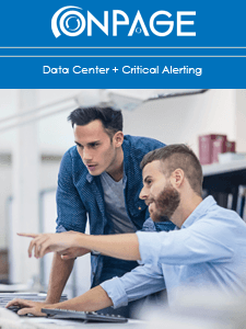 Data Center + Critical Alerting