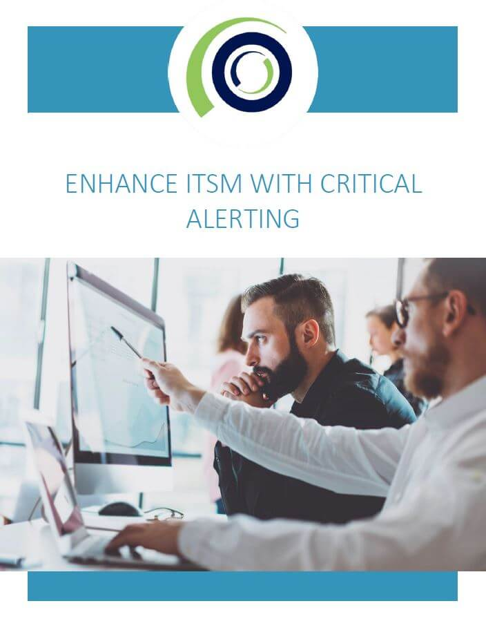 ENHANCE ITSM WITH CRITICAL ALERTING cover