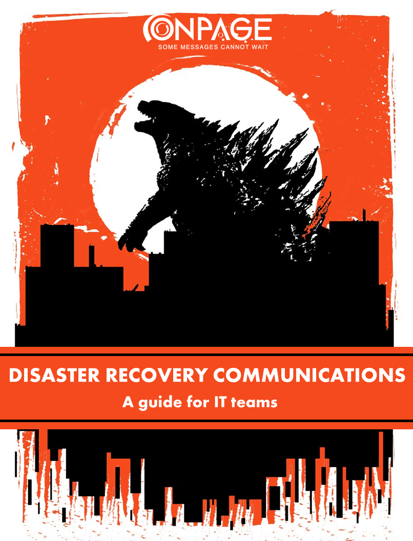 Disaster Recovery Communications whitepaper by OnPage