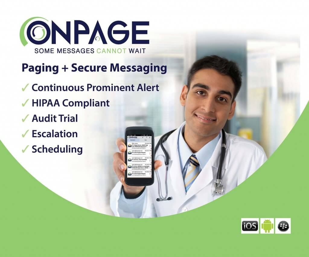 Healthcare Paging and Secure Messaging - HIPAA Compliant - Best Messaging App