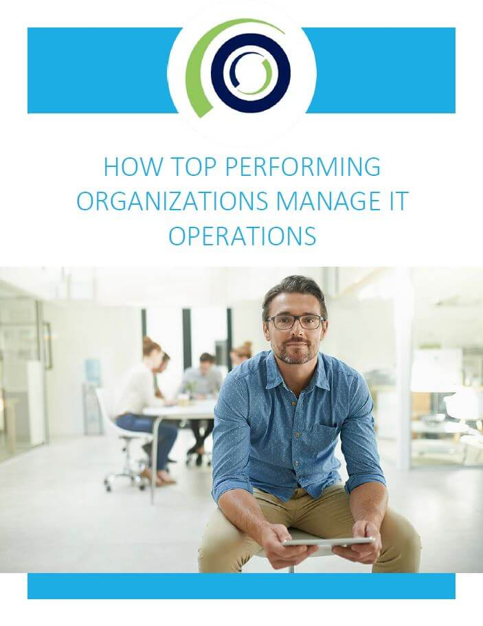 How Top Performing Organizations Manage IT Operations cover