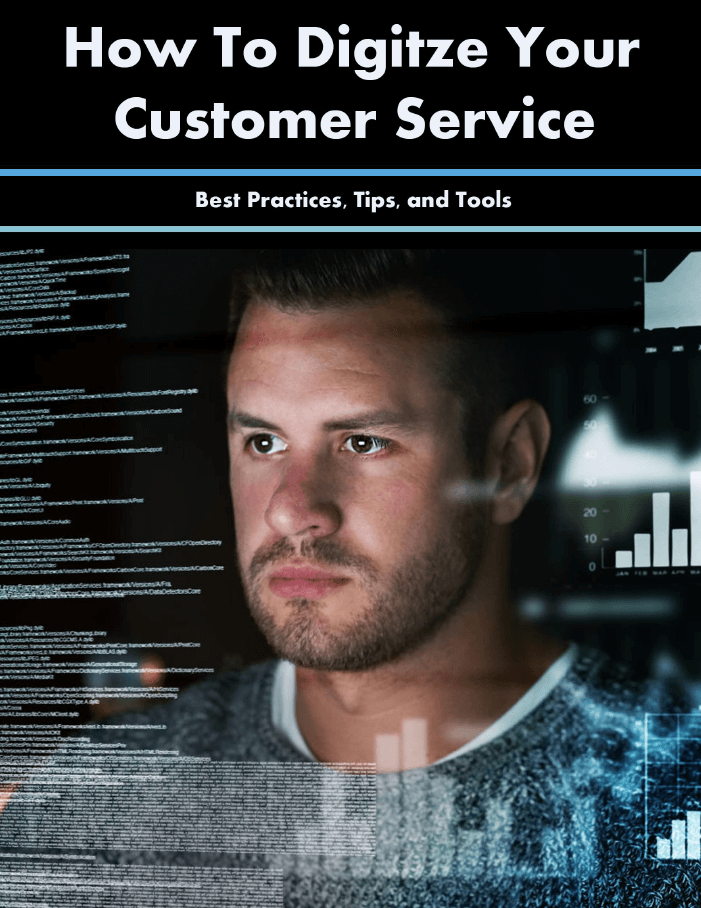 How to digitize your customer service cover
