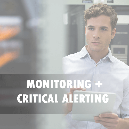OnPage monitoring + critical alerting