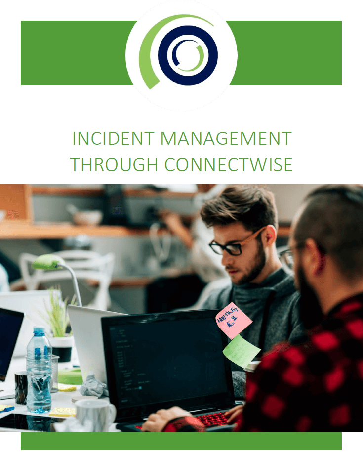 Incident Management through ConnectWise cover 1