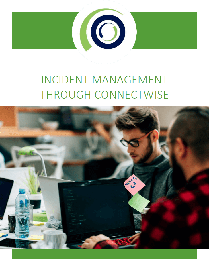 Incident Management through ConnectWise cover
