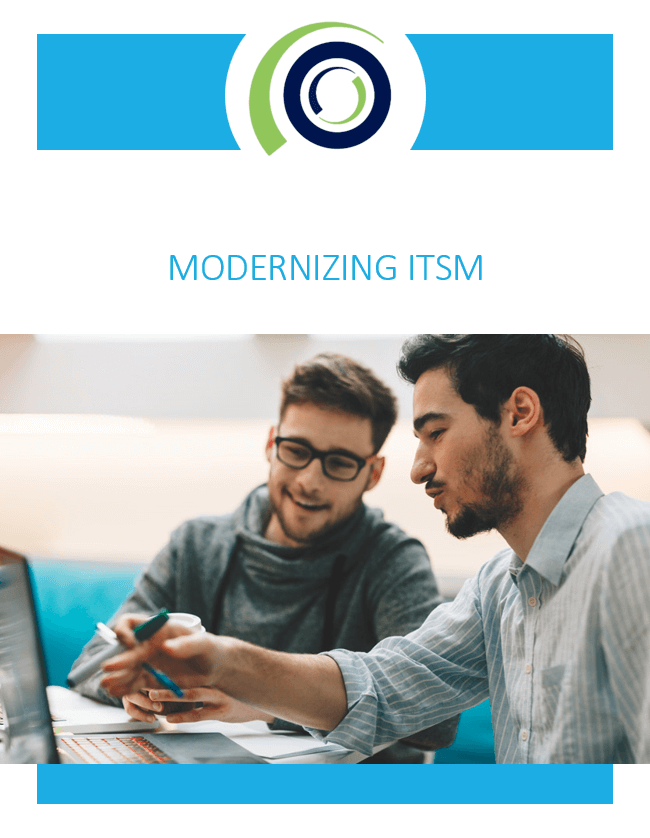 Modernizing ITSM cover