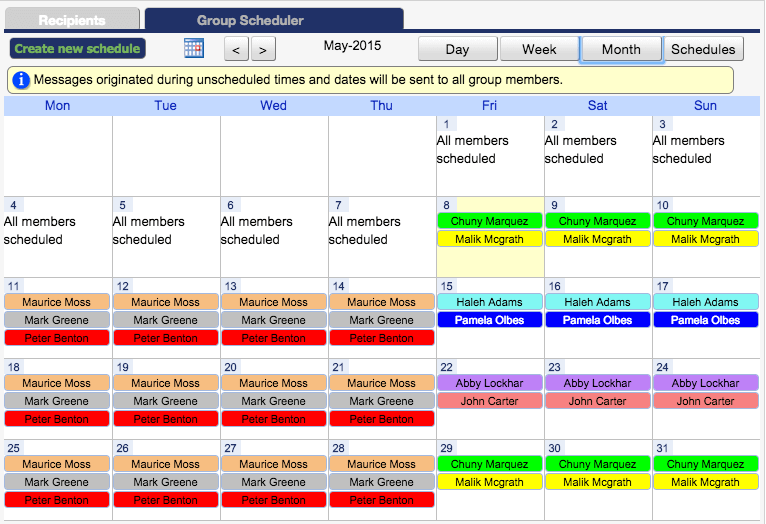 On-call Management and Responsibility Using the OnPage Console