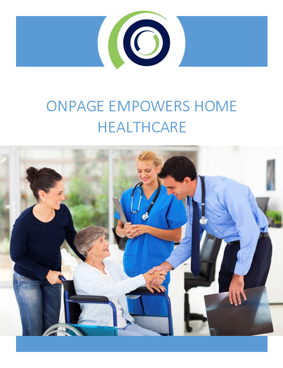 OnPage Empowers Home Healthcare cover