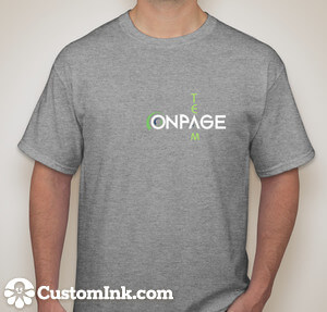 OnPage-T-Shirt-grey-front