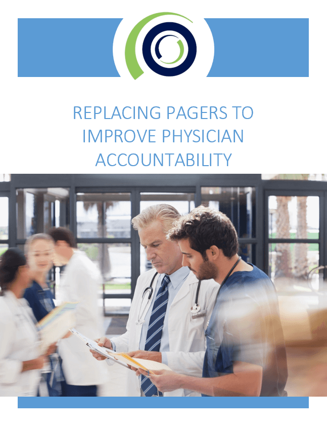 REPLACING PAGERS TO IMPROVE PHYSICIAN ACCOUNTABILITY cover 1