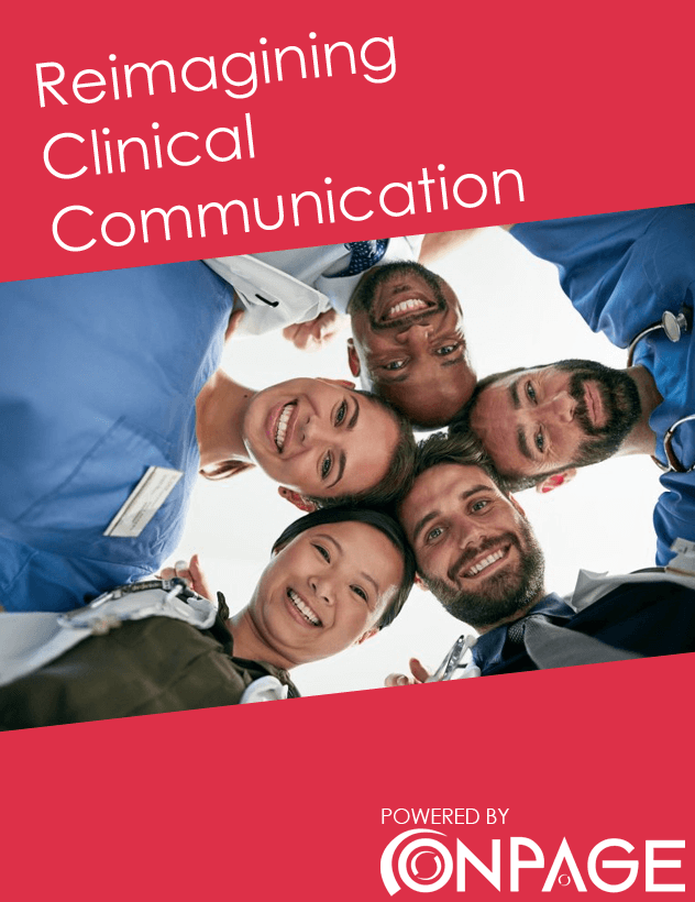 Reimagining Clinical Communication COVER 1