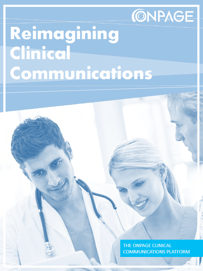 OnPage dynamic clinical communications