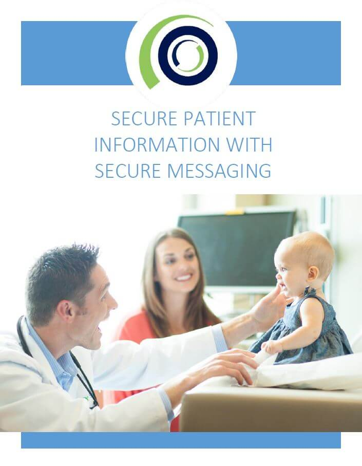 SECURE PATIENT INFORMATION WITH SECURE MESSAGING cover