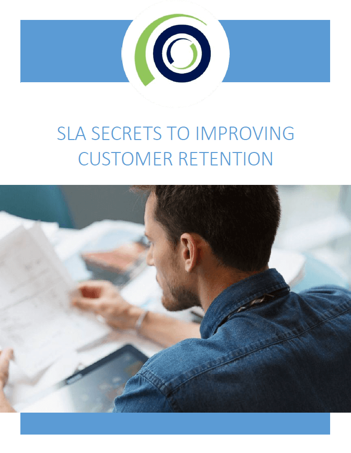 SLA Secrets To Improving Customer Retention cover