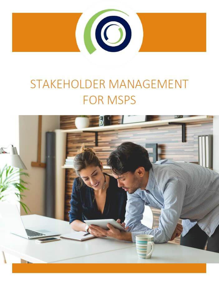 STAKEHOLDER MANAGEMENT FOR MSPs cover