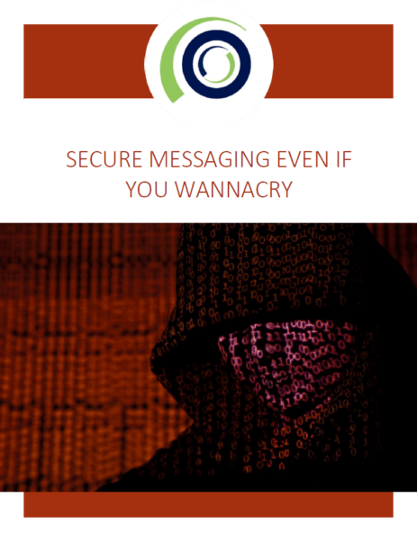 WHITE PAPER : Secure Messaging Even If You WannaCry - OnPage