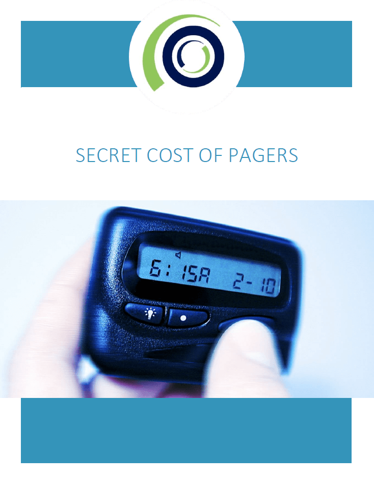 The secret cost of pagers