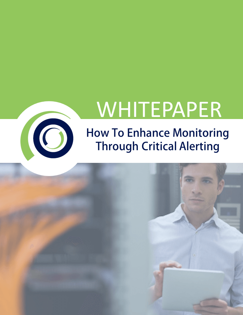 WHITEPAPER How To Enhance monitoring Through Critical Alerting