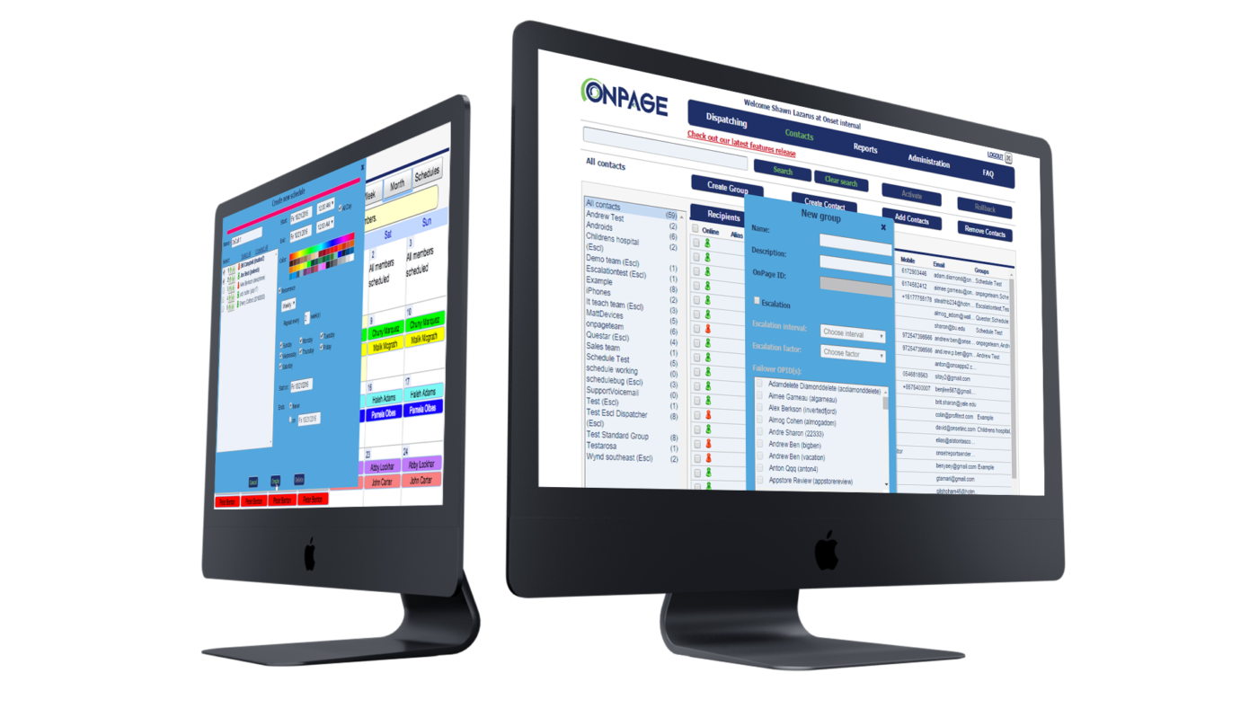 OnPage Digital on-call scheduling