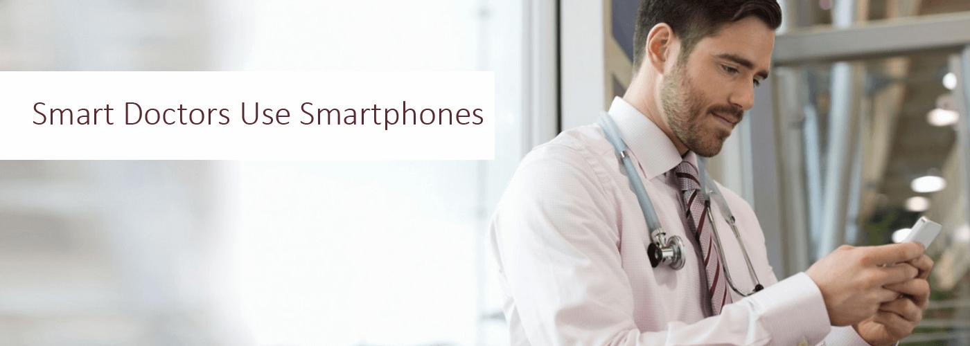 blog image template smart doctors use smartphones