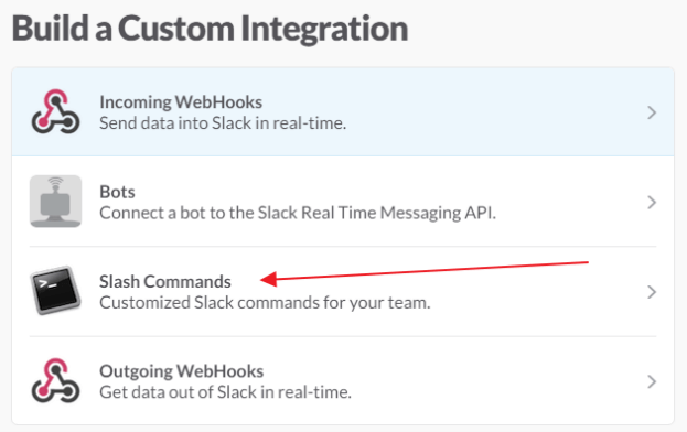 build a custom integration