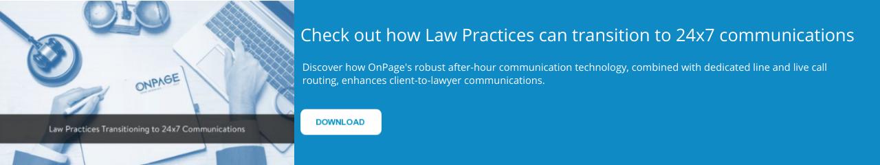 24x7 legal communications