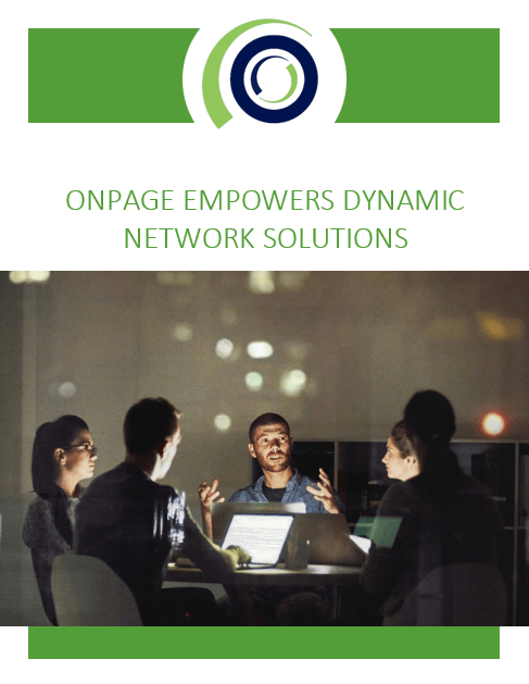 OnPage Empowers Dynamic Network Solutions whitepaper
