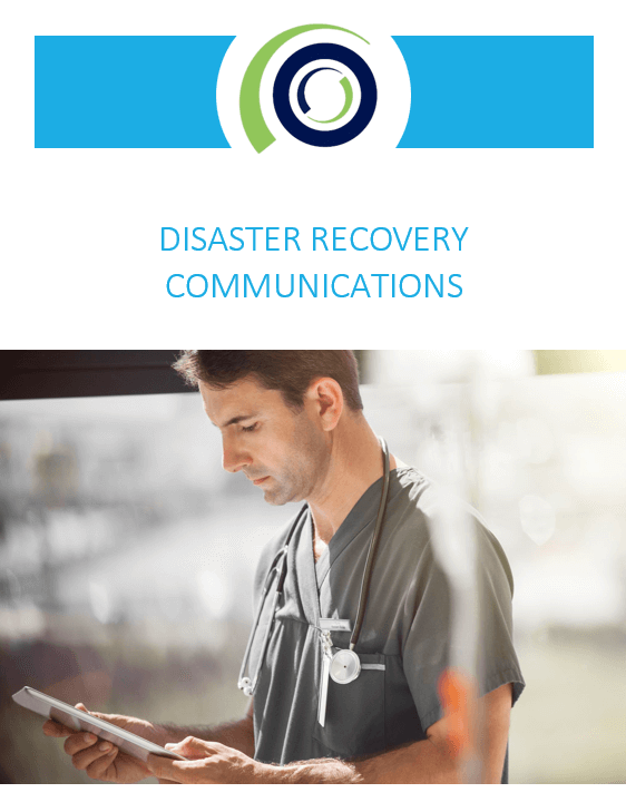 disaster recovery communications cover