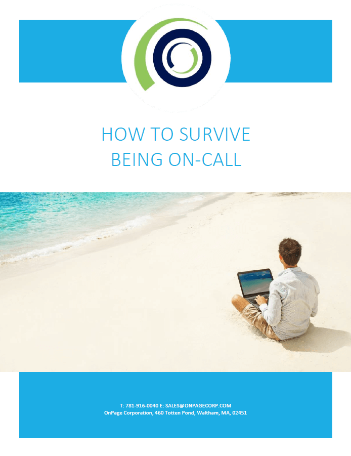 how to survive being on call cover