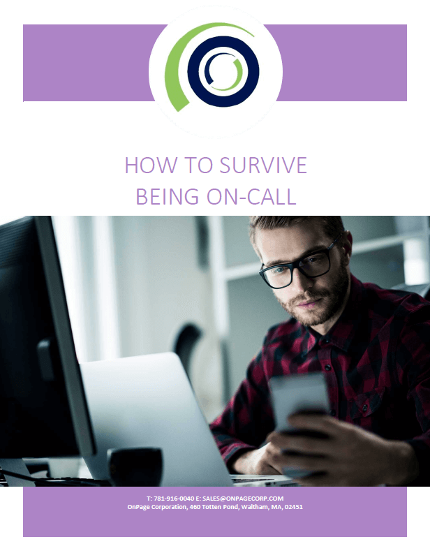 how to survive being on call for IT cover