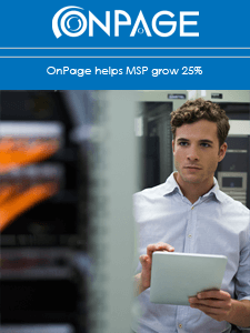 OnPage helps MSP grow 25%