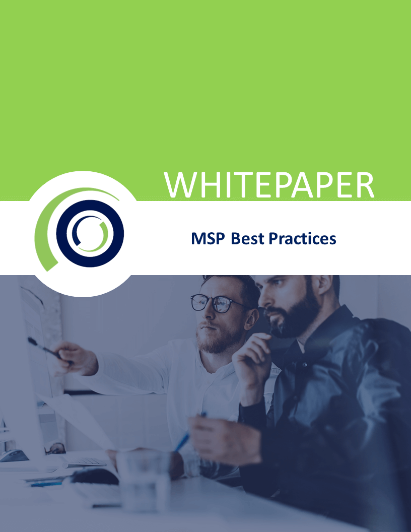 msp best practises whitepager