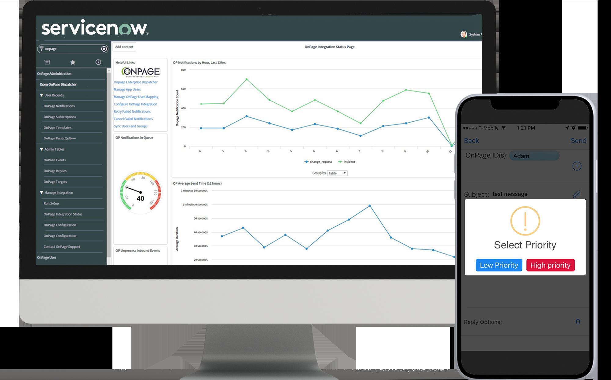 new servicenow alert integration