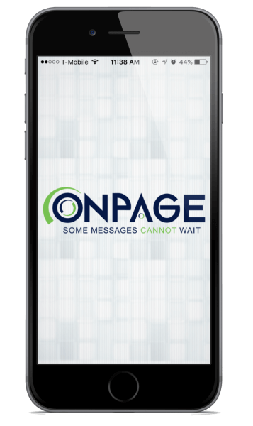 OnPage is the perfect Smartphone Pager App