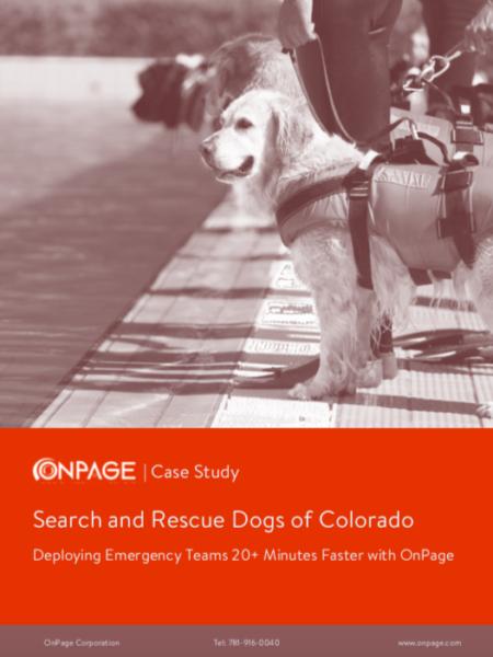 Search and Rescue Dogs of Colorado