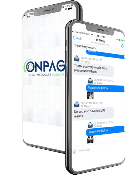 HIPAA secure messaging